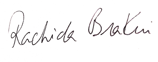 Signature Rachida - Nostra